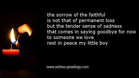 words of comfort after death of a child poems on death of a child and condolences funeral for children