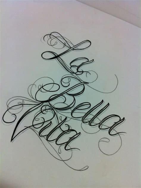 tattoo fonts tumblr lettering on
