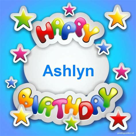 happy birthday ashlynjpg  posters  card pinterest