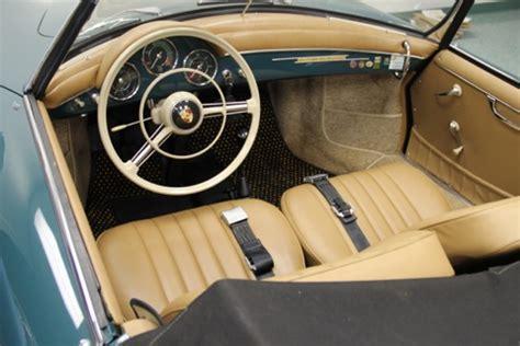 vintage porsche interior porsche 356 carpet and upholstery