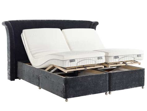 dunlopillo electric adjustable divan base buy at bestpricebeds