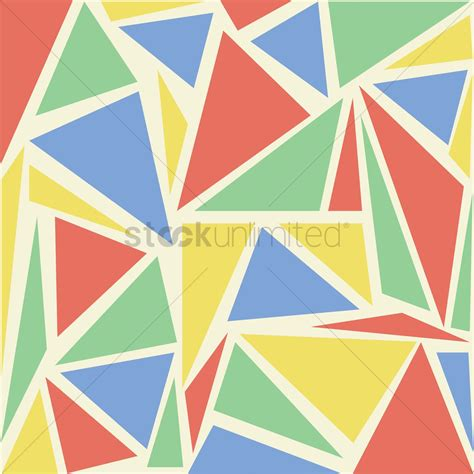 triangle mosaic pattern triangle mosaic pattern vector image 1464075