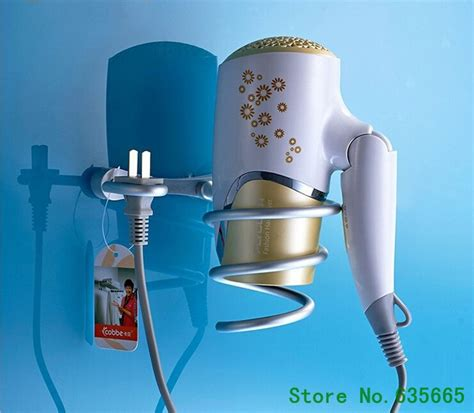 new fashion aluminum household hair dryer shelf hair