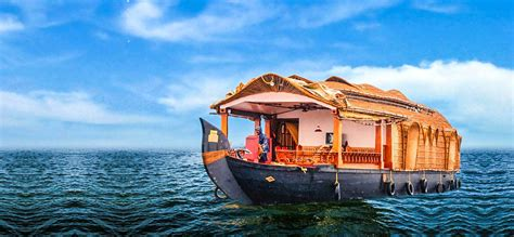 boat house stay in kerala kerala holiday with munnar alleppey vasantkamal toursvasantkamal tours
