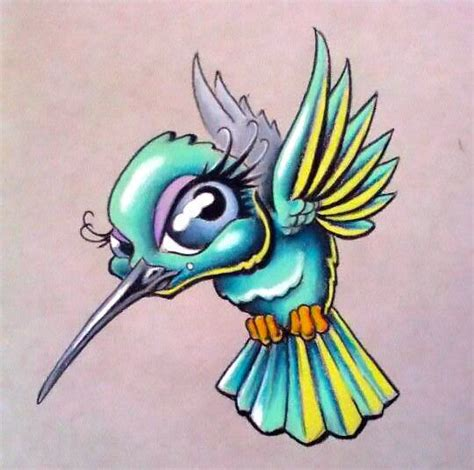 animal tattoo cartoons 47 best tattoos cartoon hummingbird images on pinterest