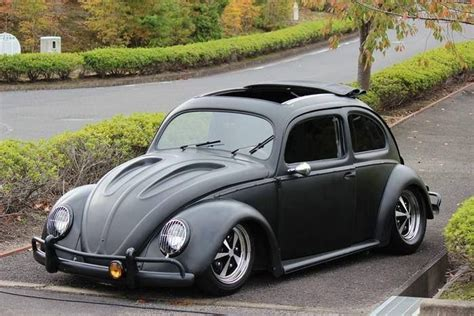 volkswagen beetle modified custom ragtop sunroof vw bug cucas pinterest vw bugs