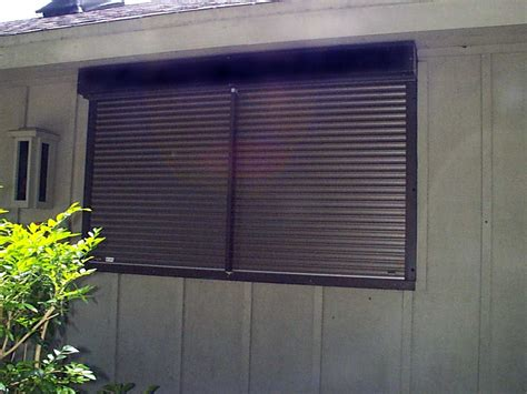 hurricane window covers hurricane shutter types automatic rolldown shutters door