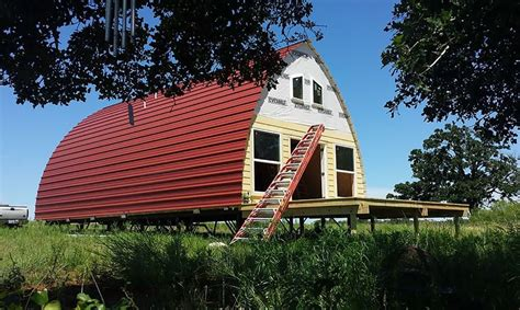 arched cabins prefabricated arched cabins can provide a warm home for