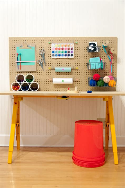 diy station store all of your kid s crafts for 50 handmade