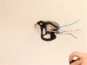 hanging a ceiling fan installing a junction box in ceiling installing free
