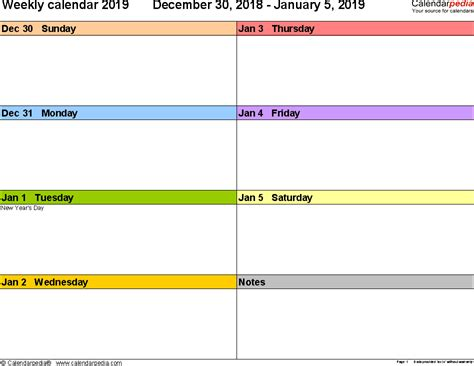 2 page weekly calendar template weekly calendar 2019 for word 12 free printable templates