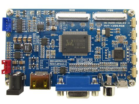 Vga On Board hdmi vga av rtd2660h converter board rtd2660h converter board us 14 00 haoyu