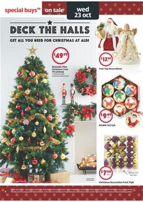 aldi catalogue christmas preparations and entertainment