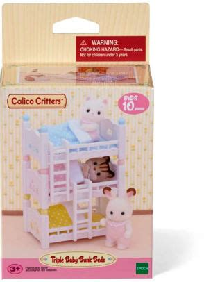 calico critters bunk beds calico critters triple baby bunk beds 20373226241 item