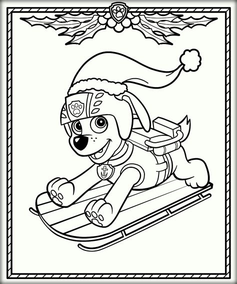 ryder from paw patrol coloring pages on atv coloring pages