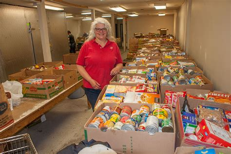 The Salvation Army Food Pantry by Chippewa Valley Residents Support Quot St Out Hunger Quot Food