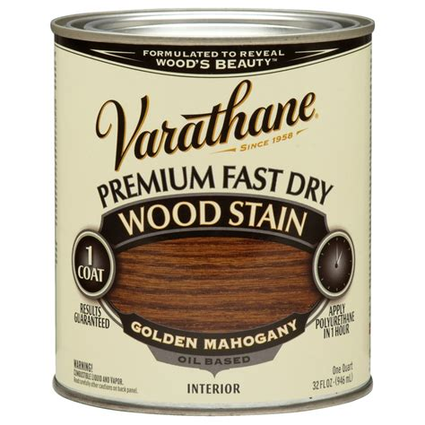 Varathane Wood Finish Interior by Shop Varathane Premium Fast Golden Mahogany Interior