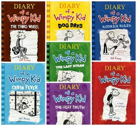 pictures of diary of a wimpy kid books jeff kinney s diary of a wimpy kid series book series