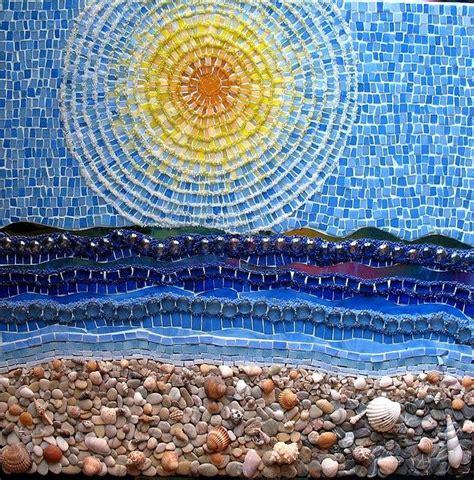 mosaic pattern in medicine fish mosaic patterns mosaics fish beach ocean