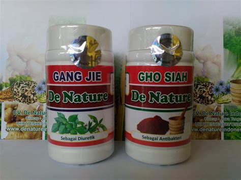 Obat Jie De Nature gho siah dan jie de nature atasi penyakit