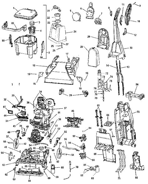 hoover floormate parts diagram hoover floormate parts diagram best free home design