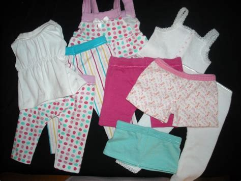 clothes pattern store wardrobe refashion dollar doll clothes from underwear