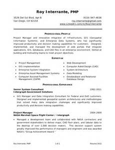Gis Officer Sle Resume by Resume Roy Interrante Pmp