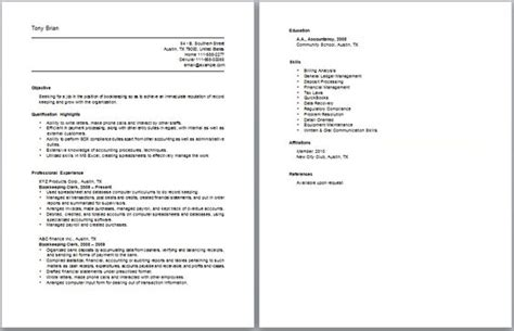 Accounting Clerk Resume Sles 2012 Insurance Claims Clerk Work Resume Sle Http Www Resumecareer Info Insurance Claims Clerk