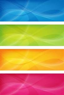 colorful banner colorful banners vector vector graphics