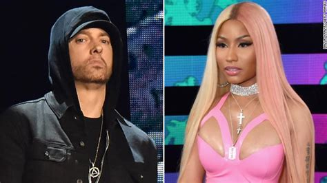 Niki Sues E by Eminem Responds To Nicki Minaj Dating Rumor Cnn