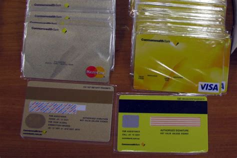 how to make a counterfeit credit card seized blank credit cards abc news australian