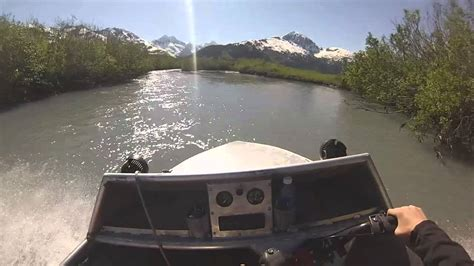 mini jet boat for sale alaska alaska mini jet boating placer youtube
