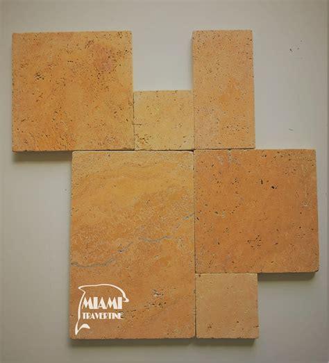 french pattern gold travertine tile travertine paver french pattern gold miami travertine