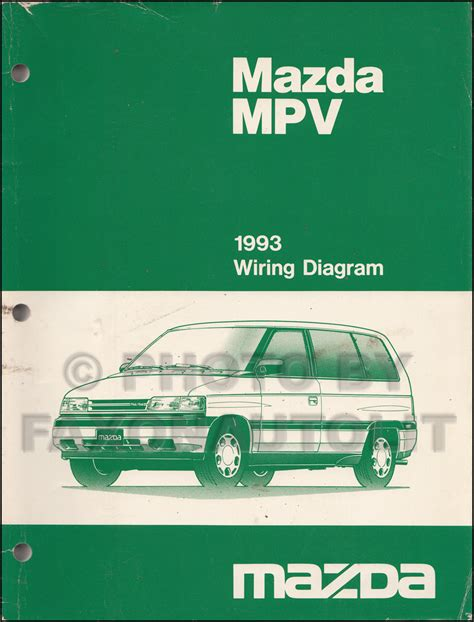 vehicle repair manual 1993 mazda protege regenerative 1993 mazda mpv repair shop manual original