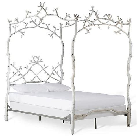 Tree Bed Frame Iron Bed Pottery Barn