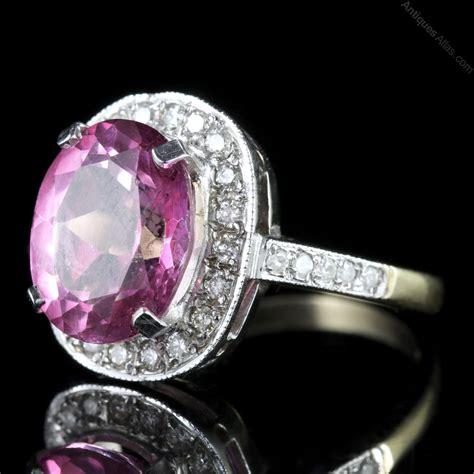 Topaz Pink antiques atlas pink topaz gold ring 6ct pink topaz