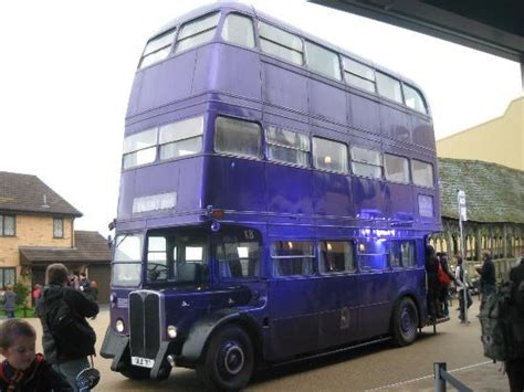 film night bus review knight bus picture of warner bros studio tour london