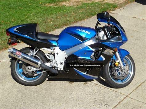 2000 Suzuki Gsxr 600 2000 Gsxr600 Blue And Black