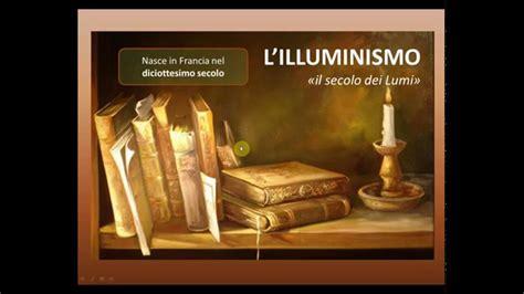 l illuminismo illuminismo