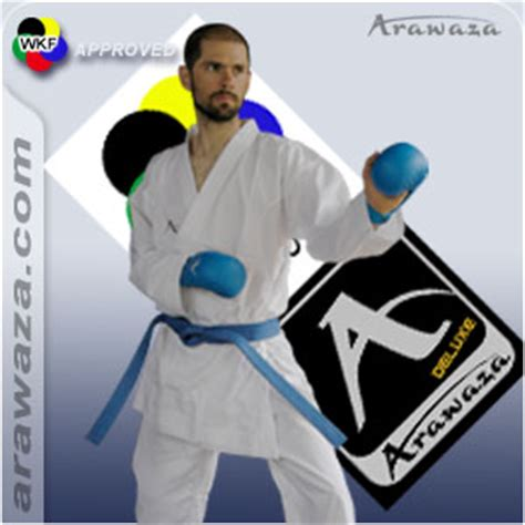 Arawaza Karategi Deluxe Karate Wkf Approved Original arawaza kumite deluxe karate