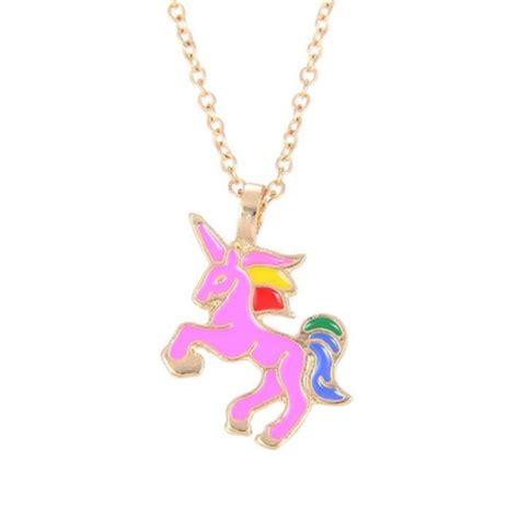 unicorn pendant necklace 3 99 bargain