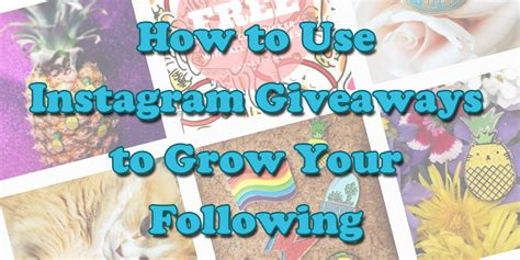 How To Win Giveaways On Instagram - how to use instagram giveaways to grow your following wordstream