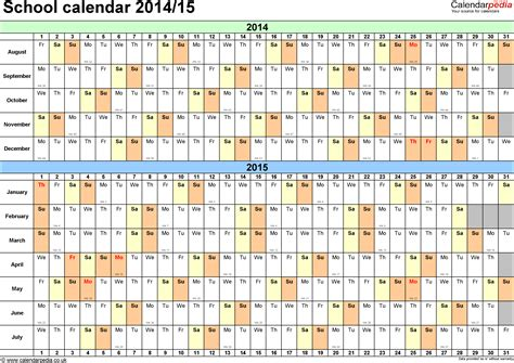 school calendars 2015 2016 as free printable word templates