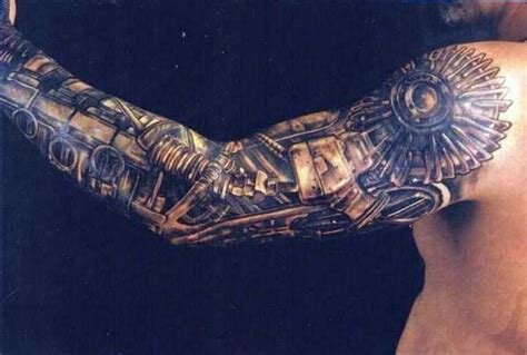tattoo biomechanical wzory biomechanical tattoo for man image 4035304 by