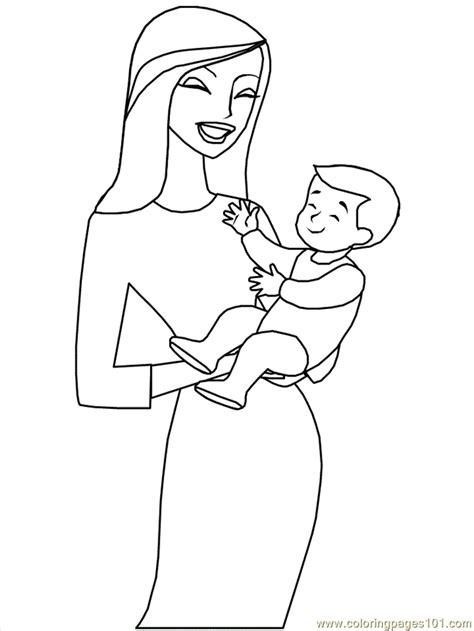 mother s day coloring page free mother s day coloring