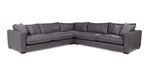 dillon leather sectional dillon leather large corner sofa dfs