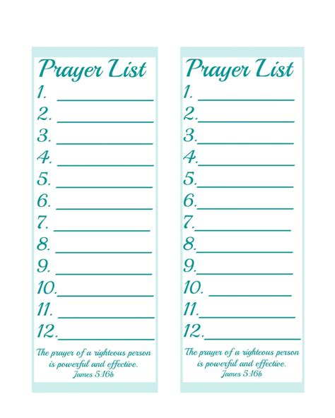 daily prayer list template driverlayer search engine