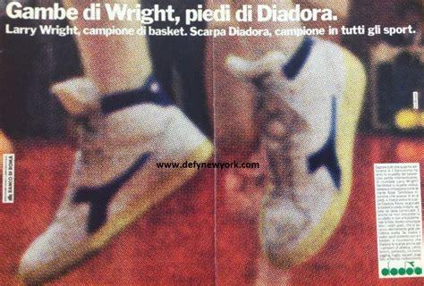 banco di roma basket larry wright diadora basketball shoe 1983 defy new york