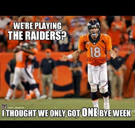 Broncos Vs Raiders Meme - pin by jennifer kukla on 49ers pinterest