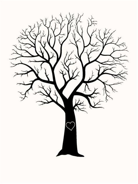 Kostenlose Vorlage Baum Fingerabdruck Baum Vorlage Andere Motive Kostenlos Zum Ausdrucken